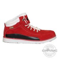 МЕГА ботинки красные замша (10 пар)