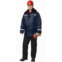 СЕВЕР-2 куртка дл., зимняя, тк.Оксфорд, синяя
